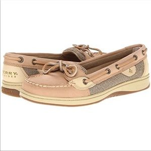 Sperry slip on top sides angelfish boat fish tan